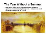 the year without a summer2