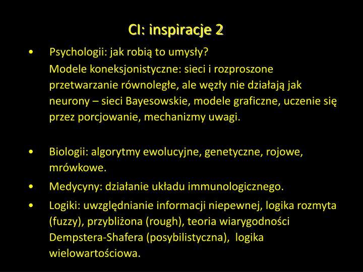 CI: inspiracje 2