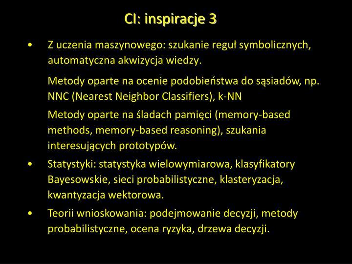 CI: inspiracje 3