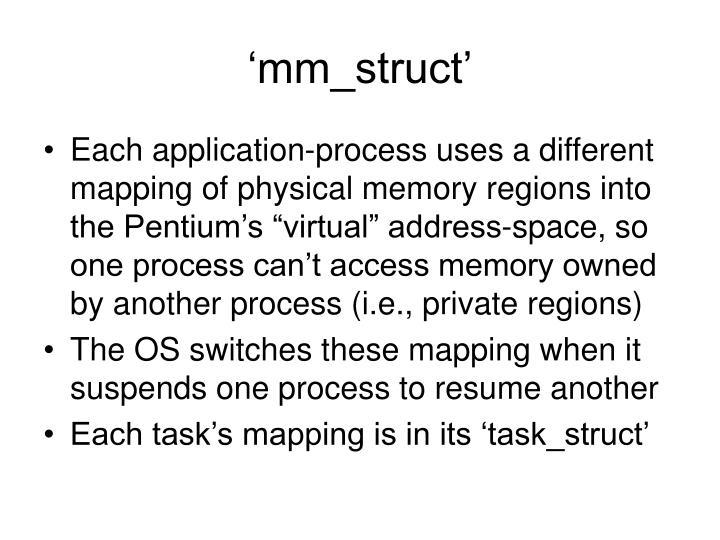'mm_struct'