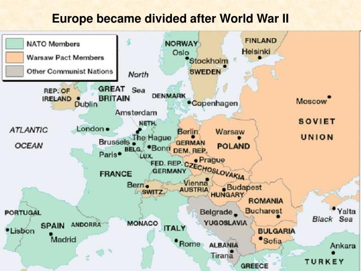 american people experienced same fear after the cold war and world war ii And the bipolar world of the cold war  after world war ii,  at about the same time, on 8 november, a british-american force under us general dwight d.