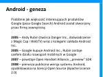 android geneza