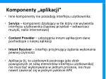 komponenty aplikacji1
