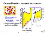 generalization inverted curvatures1
