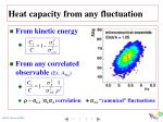 heat capacity from any fluctuation1