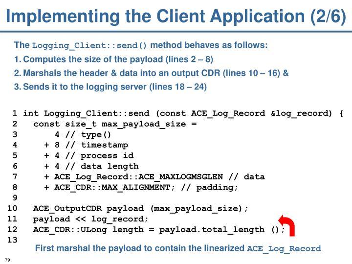 Implementing the Client Application (2/6)