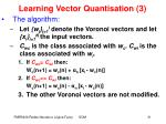 learning vector quantisation 3