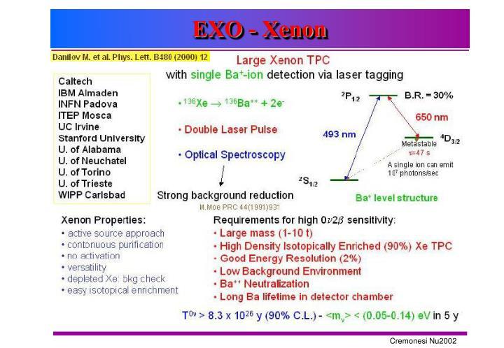 EXO - Xenon