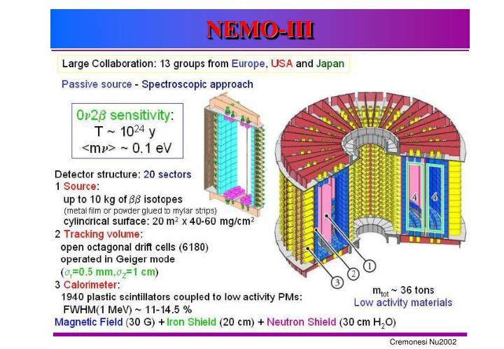 NEMO-III