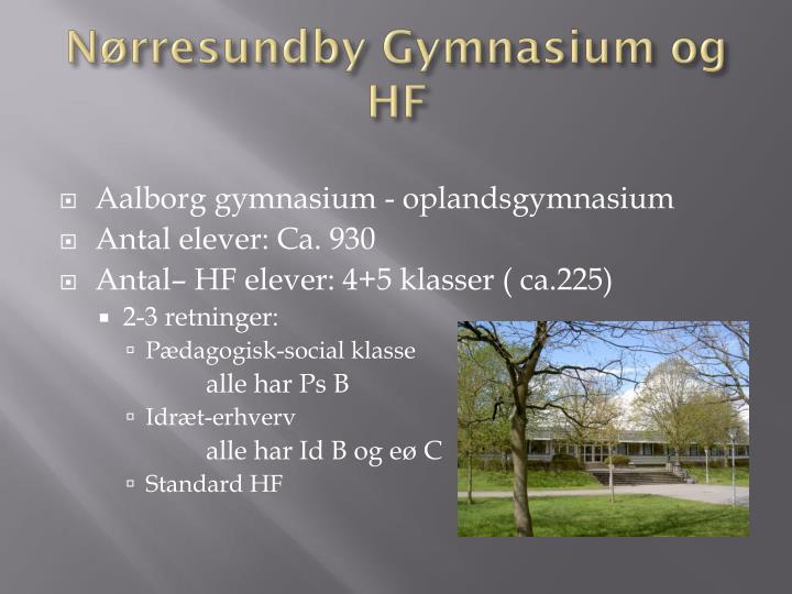 N rresundby gymnasium og hf