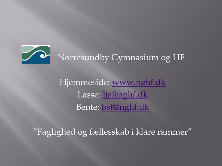 Nørresundby Gymnasium og HF