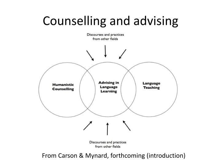 Counselling and advising