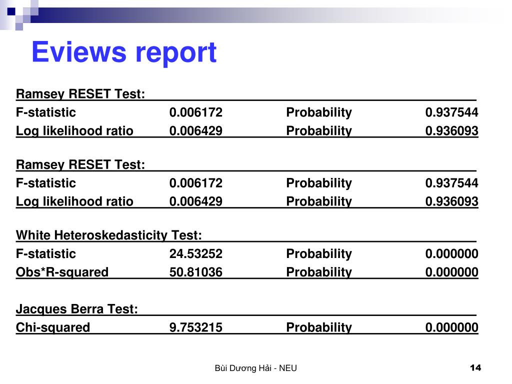 PPT - ECONOMETRICS PowerPoint Presentation - ID:5605653