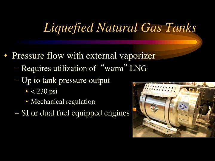 Liquefied Natural Gas Tanks
