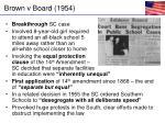 brown v board 1954