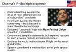 obama s philadelphia speech