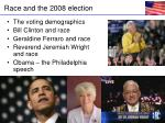 race and the 2008 election