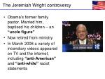 the jeremiah wright controversy