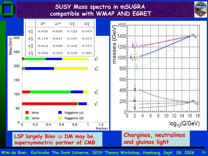 SUSY Mass spectra in mSUGRA