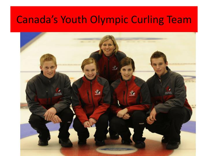 Canada's Youth Olympic Curling Team