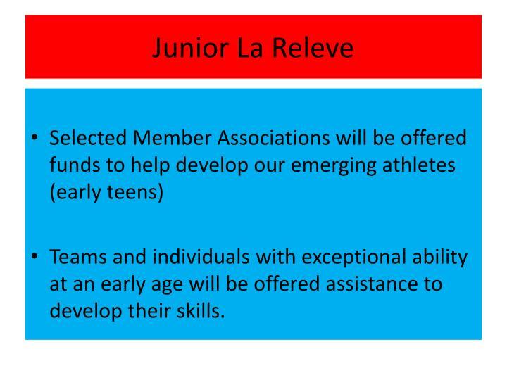 Junior La Releve