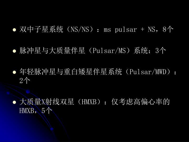 双中子星系统(