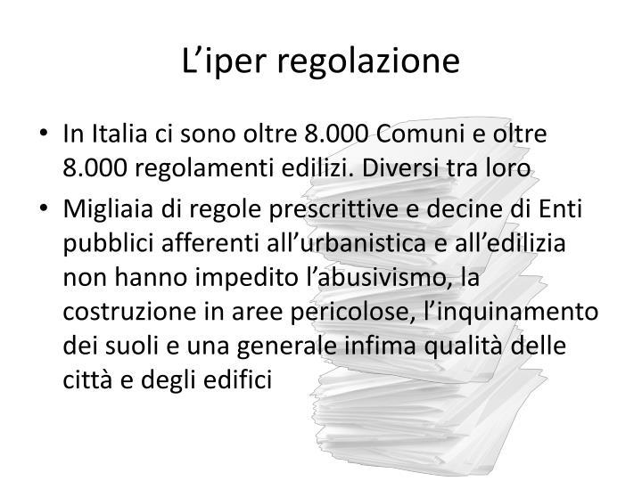 L'iper regolazione