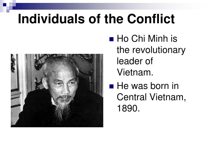 Individuals of the Conflict