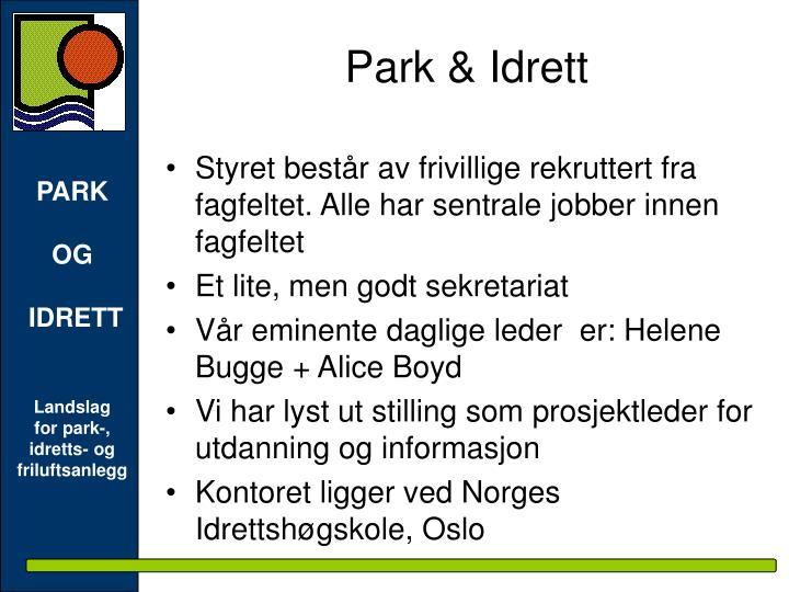 Park & Idrett