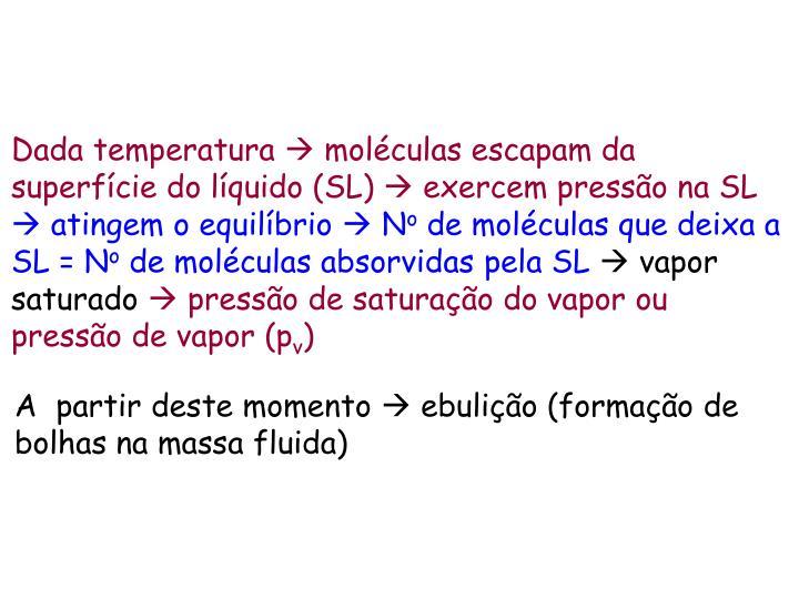Dada temperatura