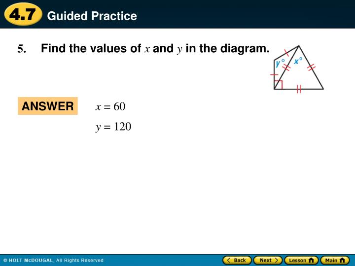 Find the values of
