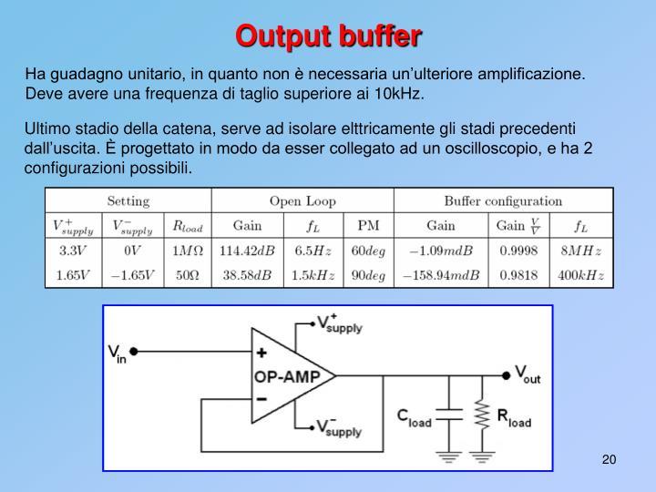 Output buffer