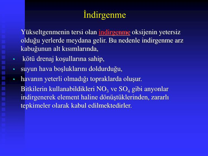 İndirgenme