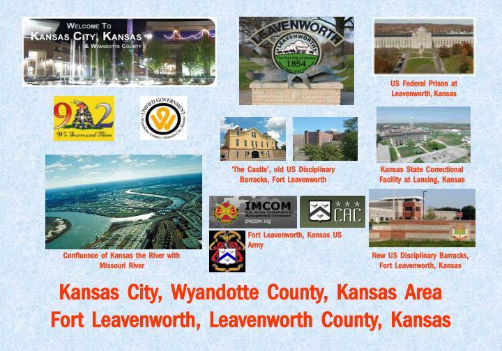 US  Federal  Prison  at  Leavenworth, Kansas