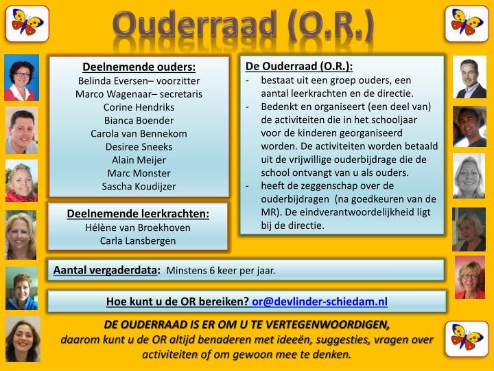 Ouderraad (O.R.)