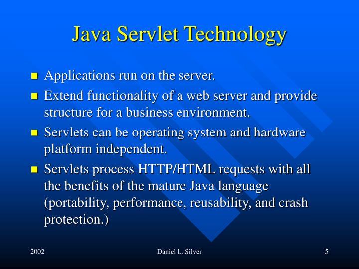 Java Servlet Technology