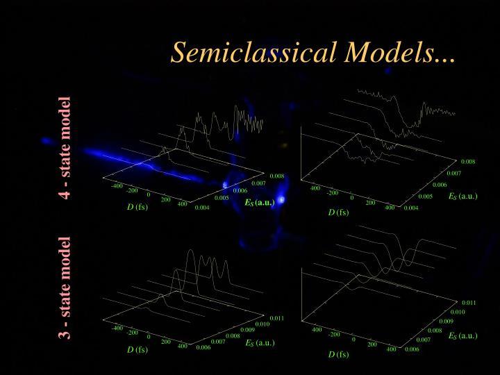 Semiclassical Models...