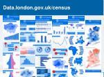 data london gov uk census
