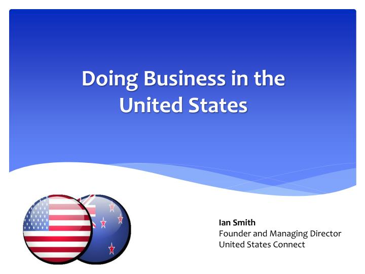doing business in the united states n.