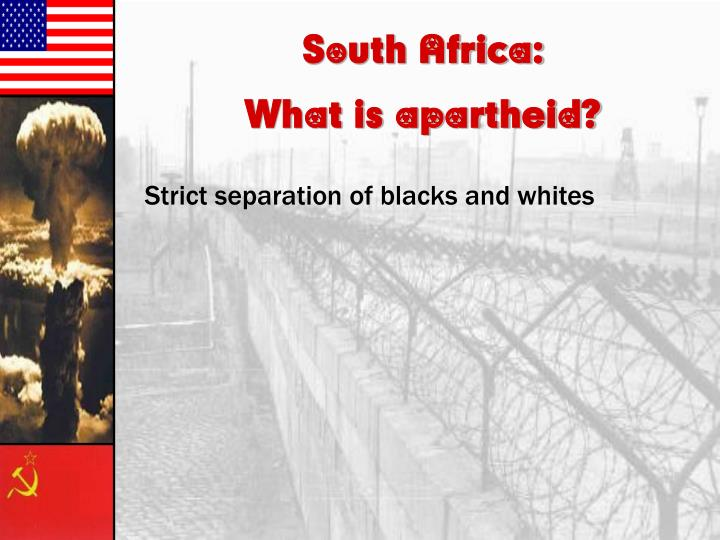 South Africa: