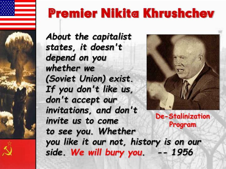 Premier Nikita Khrushchev