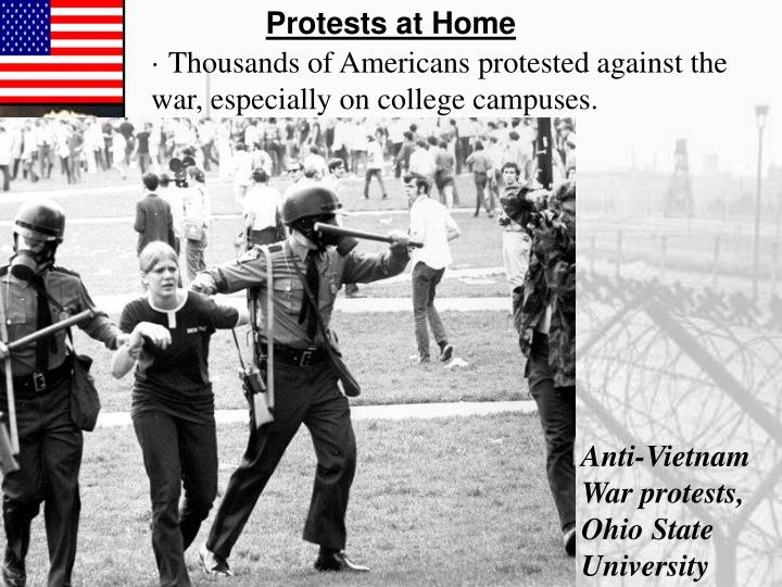 Protests at Home