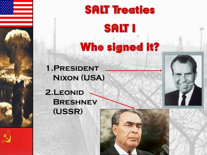 SALT Treaties
