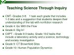 teaching science through inquiry