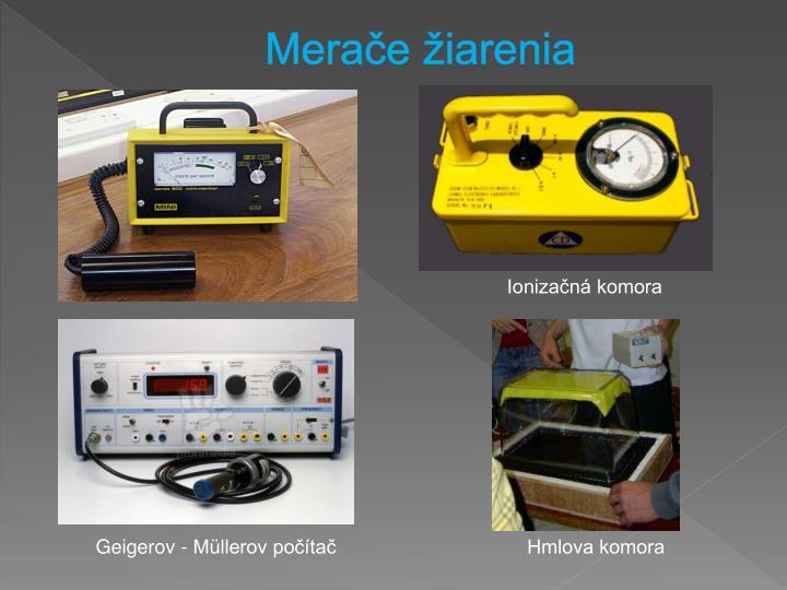 Merače žiarenia