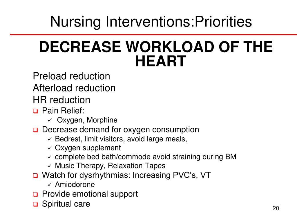PPT - Nursing Priorities in Acute Coronary Syndromes ...