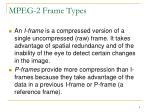 mpeg 2 frame types1