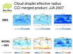 cloud droplet effective radius cci merged product jja 2007