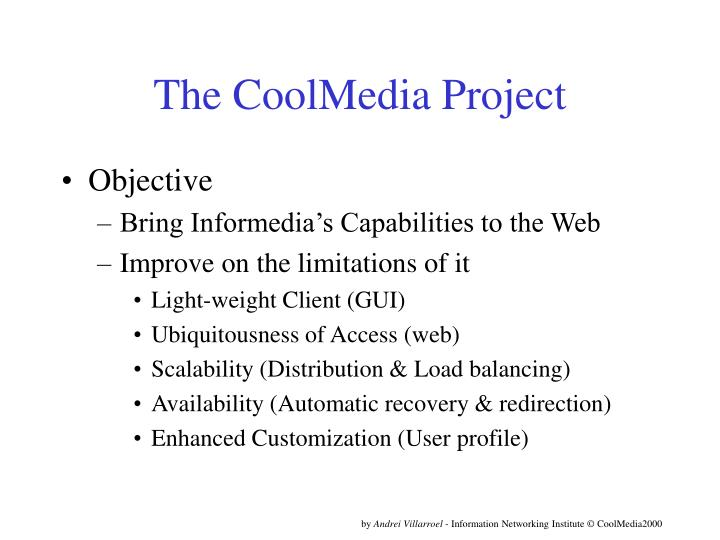 the coolmedia project n.