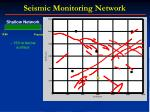 seismic monitoring network